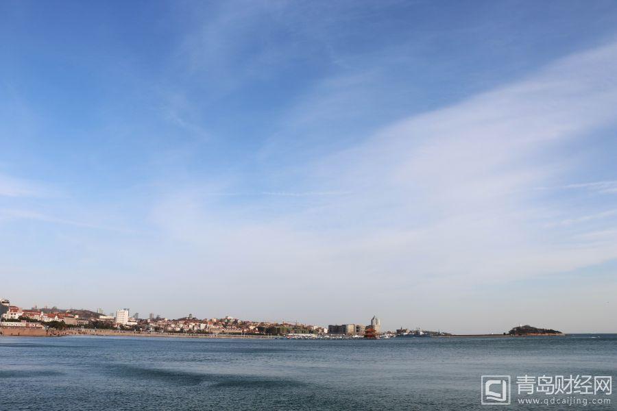 春光明媚 岛城碧海蓝天好景致