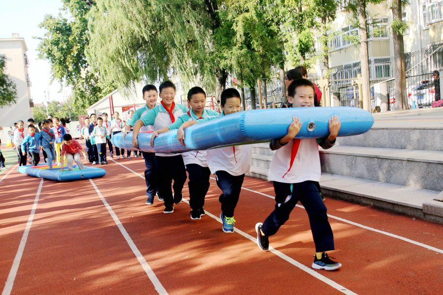 传承红色基因 少年重走长征路!青岛重庆路第三小学秋季运动嘉年华