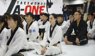 青島市嶗山區跆拳道運動協會正式成立