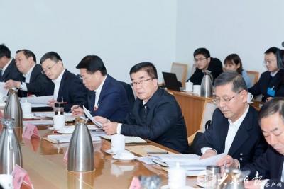 中共山東省委十一屆十次全體會議舉行