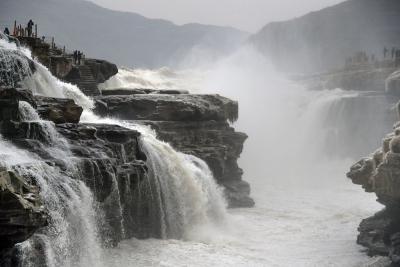 壺口瀑布︰冬日景觀亦壯美