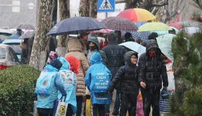 聽雪落下的聲音!2020年青島市區迎來第一場降雪