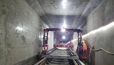 地铁4号线将于2月底实现全部复工
