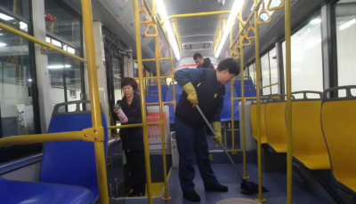 647部公交车全面消毒 确保市民健康出行