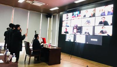 战疫情稳投资 14项目完成网上签约  5G高新视频实验园区引进企业达到42家