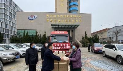 青岛南通商会捐赠20吨大米慰问一线医务工作者