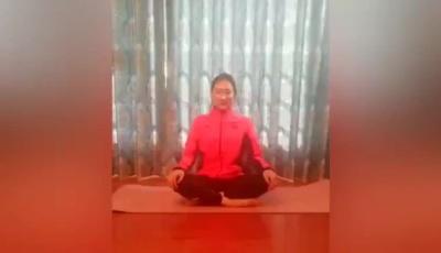 体操世界冠军朱丹教你室内健身操(三)