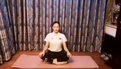 体操世界冠军朱丹教你室内健身操(九)