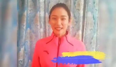 体操世界冠军朱丹教你室内健身操(一)