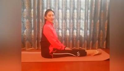 体操世界冠军朱丹教你室内健身操(四)