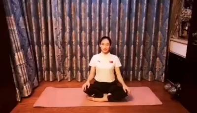 体操世界冠军朱丹教你室内健身操(十)