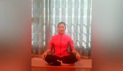 体操世界冠军朱丹教你室内健身操(二)