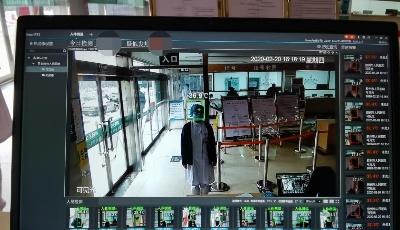 """胶州市人民医院:  """"火眼金睛""""铸牢抗击疫情智能防线"""