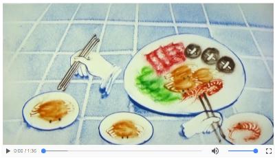 """【地评线】齐鲁视评:不给病毒可乘之机!""""分餐制""""沙画了解一下"""