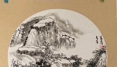 畫家姜萍:丹青七彩心潑墨 源遠流長山水間