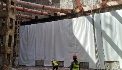 地铁4号线最新进展 李家下庄站主体结构基坑开挖完成