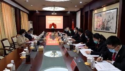 青岛市南法院环境资源审判法庭揭牌启用