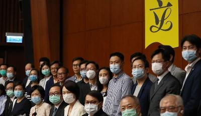 香港特區立法會主席和多位議員支持建立健全香港特區維護國家安全的法律制度和執行機制