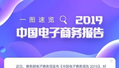数读│一图速览2019中国电子商务报告