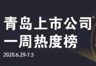 青岛上市公司一周热度榜|威奥股份就媒体报道进行澄清;双星混改征得3家意向投资者