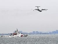 组图|鲲龙出海!国产大型水陆两栖飞机青岛海上首飞