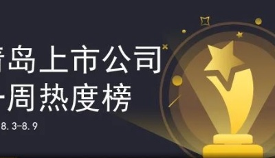 青島上市公司一周熱度榜|高測股份科創板上市;多家上市青企入圍中國500最具價值品牌榜