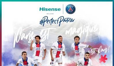 海信成為巴黎圣日耳曼俱樂部全球官方贊助商