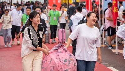 欢迎新同学!青科大迎近万名2020级新同学