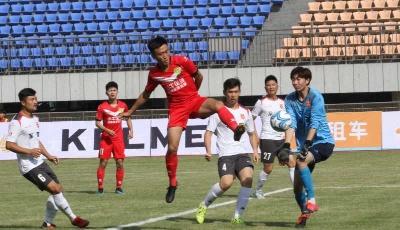 2020胶东足协杯赛开幕式在莱西举行
