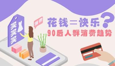 一图读懂│花钱=快乐?90后人群消费趋势