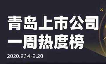 青岛上市公司一周热度榜丨阿里犀牛C2M概念带火酷特智能