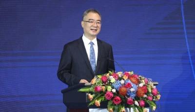 2020中欧大发快3家峰会青岛论坛隆重开幕,王清宪作特别致辞