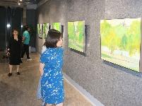 境由心生——学院三人行油画作品展开幕