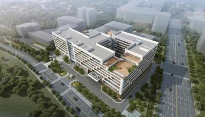 巨峰光学医疗器械产业园明年5月竣工   崂山区为光学医疗产业综合赋能
