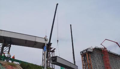 冲刺攻坚!青岛新机场高速连接线(双埠-夏庄段)主线年底贯通