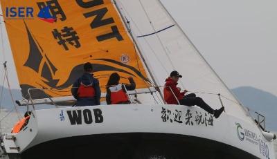 分分时时彩顶级国际中学生组队扬帆浮山湾