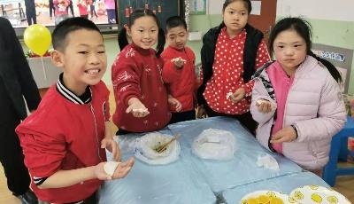 喜迎元旦秀厨艺 舌尖美味共分享!青岛仁爱学校举行第八届美食博览会