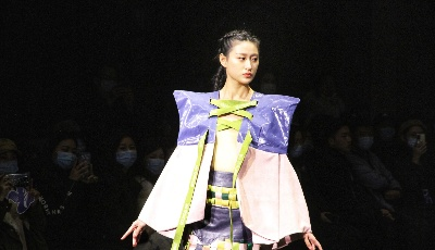 别眨眼!时尚设计大赛秀场展示精彩纷呈
