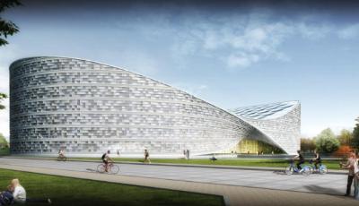 招才引智!青岛大学城图书馆、文化馆将完成主体施工