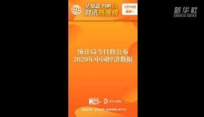 早知道·财讯热搜榜TOP10(1月18日)