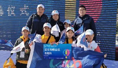 中韩小学帆船队队员赴深圳比赛获得好成绩
