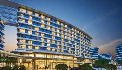 胶州湾再添商务新坐标!云端瞰海五星级酒店正式签约