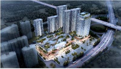 市北商务区拟配建人才公寓  紧临4号线福州路站