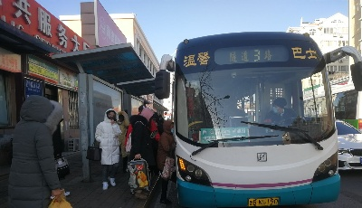 就地过年留青人员增加 温馨巴士增班次助力市民出行