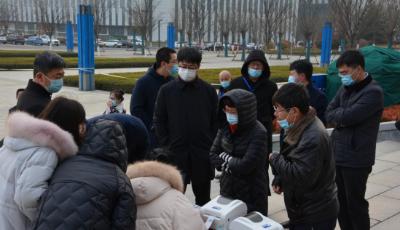 即墨区人社局组织机关事业单位开展疫情防控应急培训演练