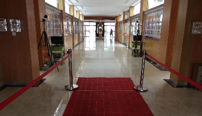 """青岛58中:新学期启程,欢迎同学们""""回家"""""""