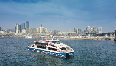 北方第一艘双体铝合金高速旅游船交付起航 青岛海洋旅游再添新利器