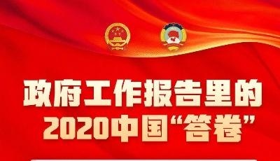 全年国内生产总值增长2.3%、城镇新增就业1186万人……政府工作报告里的2020中国答卷