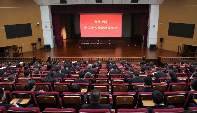 青岛中院召开党史学习教育动员大会  推进工作高质量发展