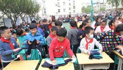 """重庆路第三小学""""五一""""劳动技能大赛精彩纷呈"""